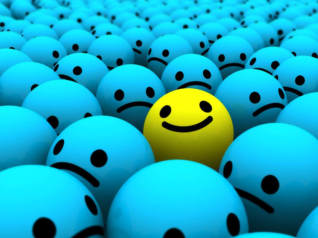 Ser feliz es posible con actitud positiva